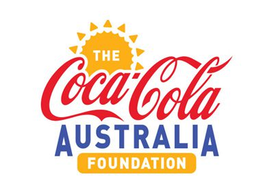 Three-year partnership with The Coca Cola Australia Foundation!