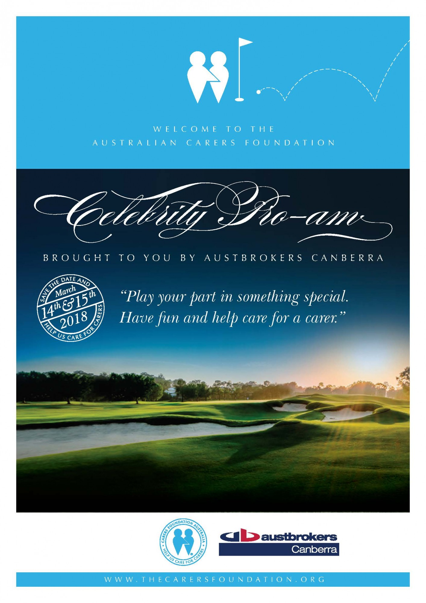 The Carers Foundation Australia Celebrity Pro Am MARCH 14th 15th 2018