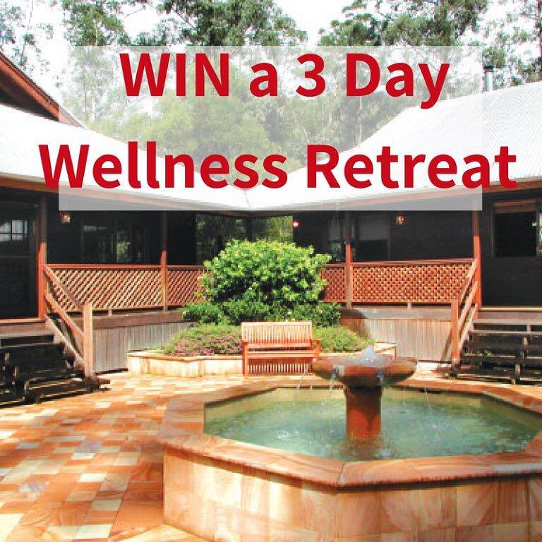 WIN A 3 DAY WELLNESS RETREAT