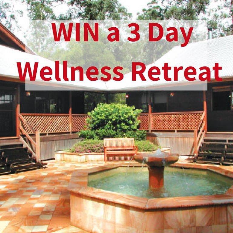 WIN A 3 DAY WELLNESS RETREAT