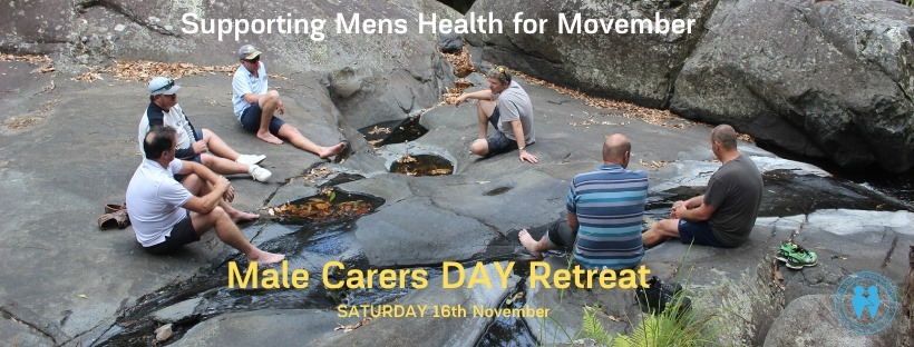 Male Carers Day Retreat Nov 16