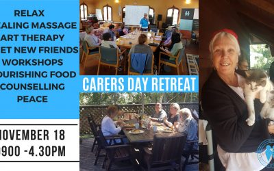 Day Retreat for Carers ~ Relax ~ Restore ~ Recharge Nov 18
