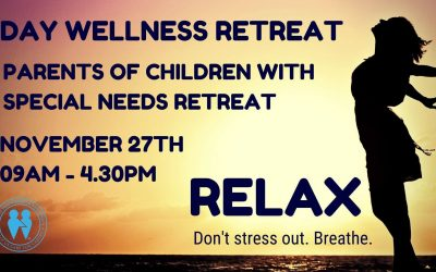 DAY Wellness Retreat ~ Parents of Children with Special Needs Nov 27