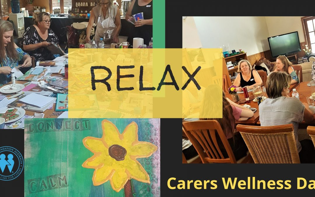 Wellness Day Retreat for Carers Thursday 19th MARCH