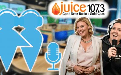 Juice Radio Interview with Chloe and Elerrina