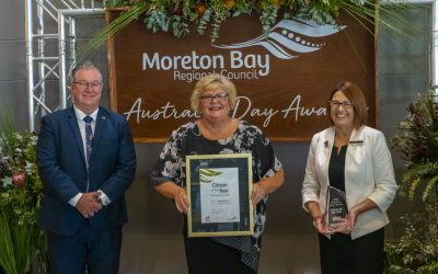 Caring for carers makes Ronnie Benbow Citizen of the Year